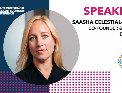 Saasha Celestial-One to join the discussion at the Impact Investing & Circular Economy Conference
