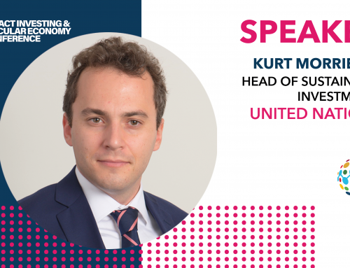 Kurt Morriesen to join the debate at The Impact Investing & Circular Economy Conference