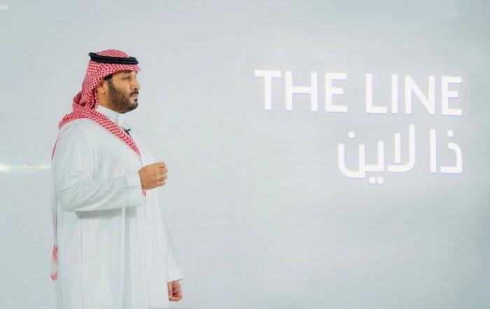 neom the line saudi prince