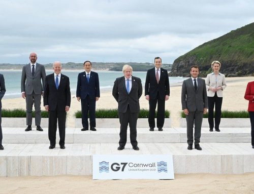 """""""A crucial moment in history"""" – G7 leaders in Cornwall"""