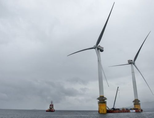 Shell plans for new windfarms off the coast of Scotland